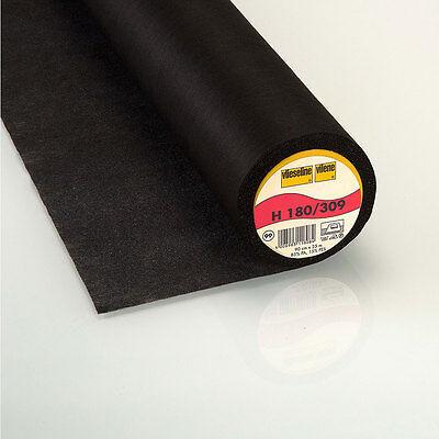 0,5m Freudenberg H180 schwarz Vlieseline Bügeleinlage Vlieseinlage 90cm breit