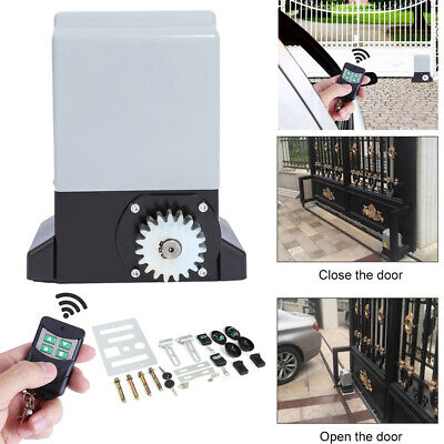 2000KG 750W Electric Sliding Gate Motor Opener with Automatic Remote Control