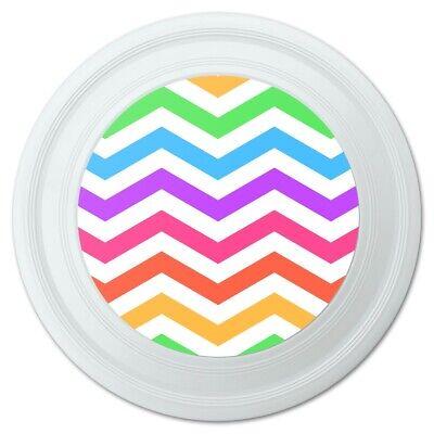Rainbow Chevrons Zigzag Pattern Novelty 9