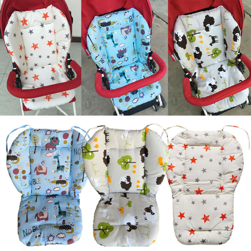 Star Print Baby Stroller High Chair Seat Cushion Liner Mat Cover Protector New