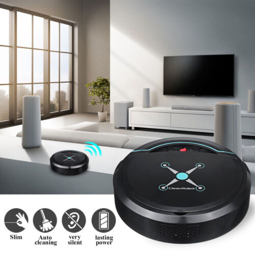 Self Navigated Rechargeable Smart Robot Vacuum Cleaner Auto Sweeper Edge Clean Home & Garden