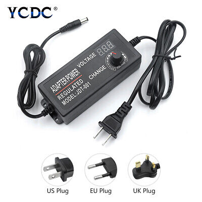 Ac To Dc Switching Power Supply Voltage Adjustable Adapter 3-12v9-24v24-36v 0
