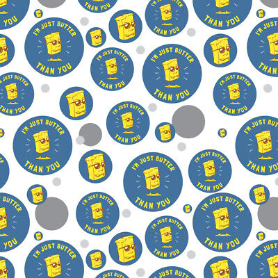 I'm Just Butter Better Than You Funny Premium Gift Wrap Wrapping Paper