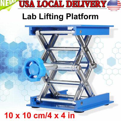 4 X 4 Lab Lift Lifting Platform Aluminum Stand Rack Scissor Jack Bench Lifter