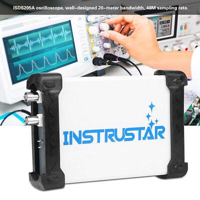 Instrustar Isds205a Digital Pc Usb Oscilloscope Spectrum Analyzer Data Recorder