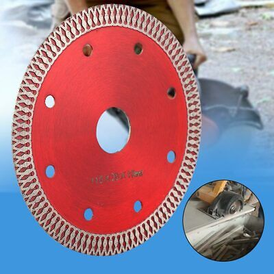 110*20*10mm Diamond Saw Blade Cutting Disc For Cutting Ceramic Tile Stone Red (Tile Saw Blade 10)