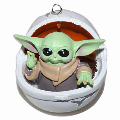 Christmas Ornament , Star Wars: The Mandalorian The Child in Hovering Pram