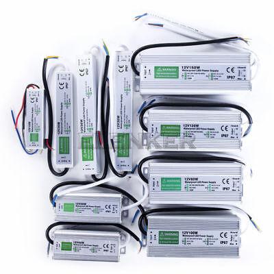 Power Supply IP67 Waterproof Adapter DC 12V 150W LED Driver Lighting Transformer