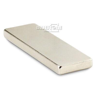 Long Bar Super Strong Block Slice Magnet 60 X 20 X 5 Mm Rare Earth Neodymiu N50