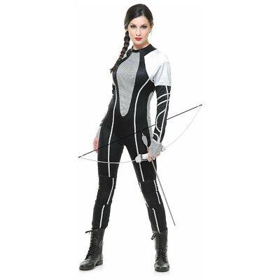 Katniss Everdeen Damen Kostüm Overall Hunter 2 Fangen Feuer Film Erwachsene