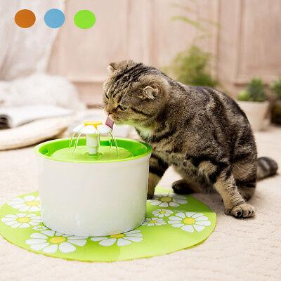 Automatisch 1,6 Liter Hunde Katzen Trinkbrunnen Haustier Wasserspender Tränke (Automatische Haustier-wasser)
