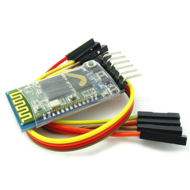 HC-05 Wireless Bluetooth RF Transceiver Module Serial RS232 TTL For Arduino ZKY