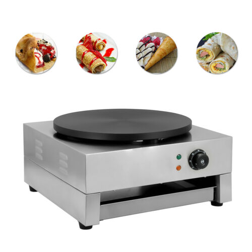 3KW Commercial Electric Crepe Maker Pancake Machine Single H