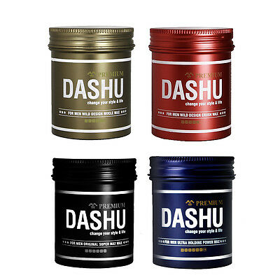 [DASHU] for Men Hair Wax. Special x 4ea Set ( 4 piece). Made in Korea.