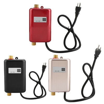 3000W Portable Instant Electric Hot Water Heater System Under Sink Tap -