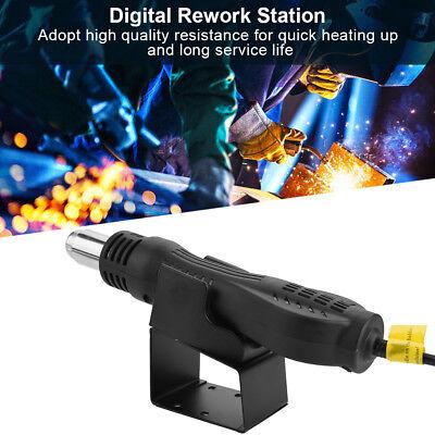 8858 Intelligent Led Digital Hot Air Gun Heat Gun Rework Station Ac 110v220v Sd