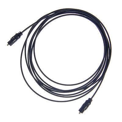 Optisches Digital Audio Kabel LWL SPDIF LWL Stecker Lichtleiterkabel 3m Toslink