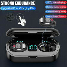 Bluetooth 5.0 Headset TWS Wireless Earphones Mini Earbuds Stereo Headphones CA