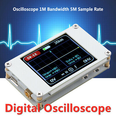 Dso188 Tft Color Ultra-small 1mhz Digital Oscilloscope Voltage Frequency Tester
