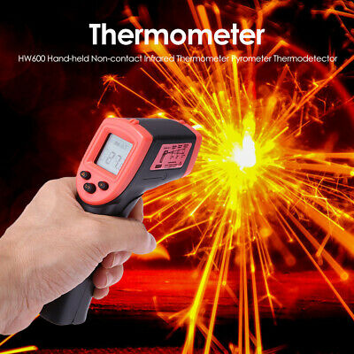 Infrared Thermometer LCD Laser Temperature Gun IR Temp Meter Non-contact Digital Business & Industrial