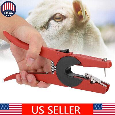 Animal Ear Tag Marking Tools Plier Applicator For Livestock Sheep Goat Pig ()