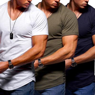 BEHYPE Herren T-Shirt Clubwear Oversize Washed Longtee Longshirt Longline NEU