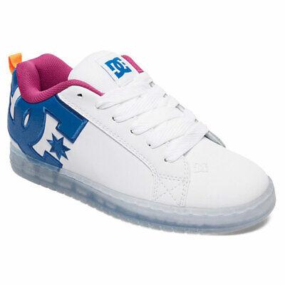 DC Shoes Men's Court Graffik SE Low Top Sneaker Shoes White Black (Court Graffik Se Sneaker)