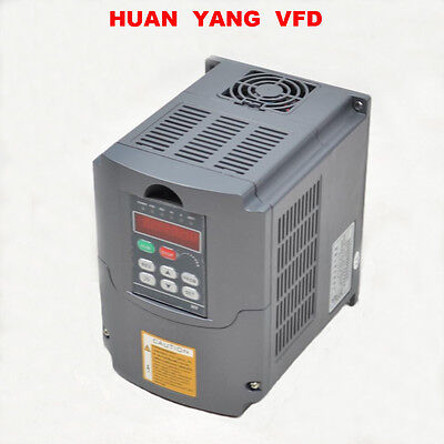 HY 2,2KW 380V VFD Variable Frequency Drive Inverter 3HP 10A Frequenzumrichter