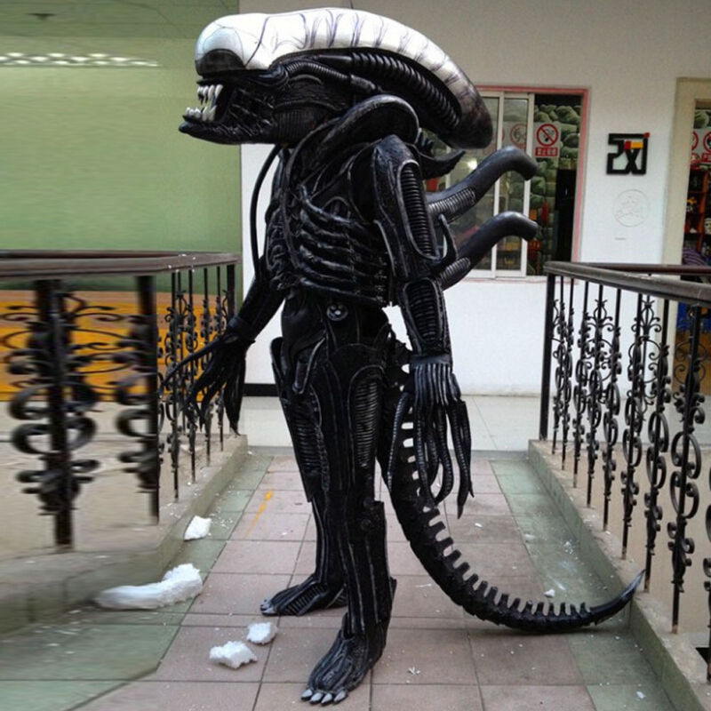 A whole set of Costumes COSPLAY Alien DJ Fancy Dress Party Nightclub Performance