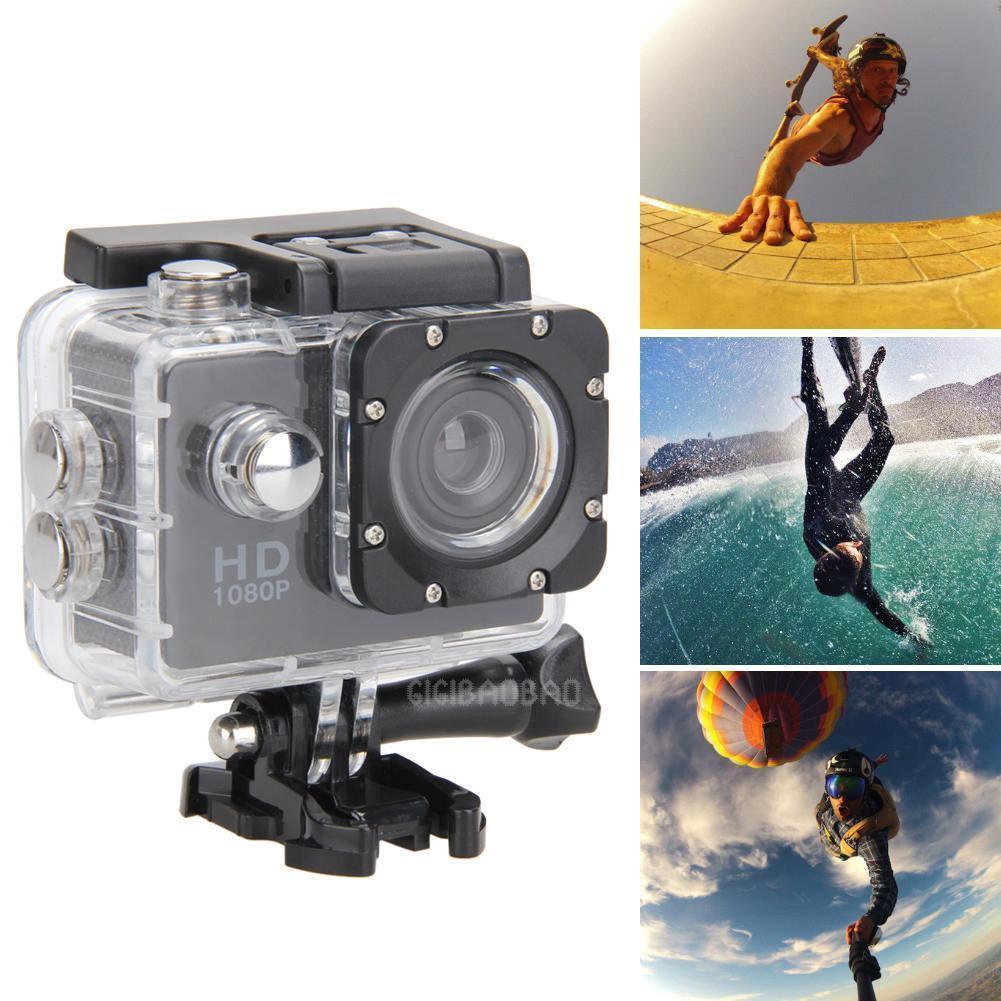 Waterproof HD 1080p Action Sport Cam Camera Camcorder Video Helmet Cam Bike DVR