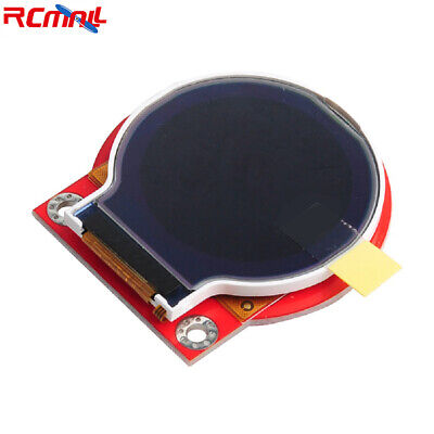 Smart Watch Tft Lcd Module Spi Round 0.5ma 3.3v-5.5v 2.54mm 8pin Connector