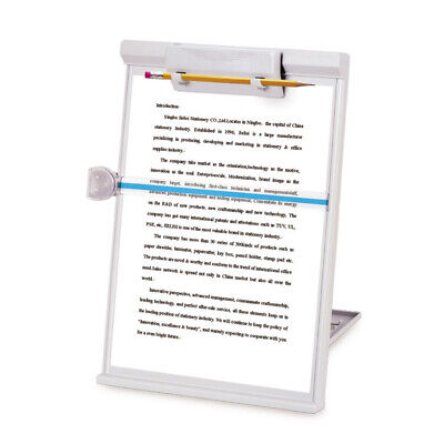 A4 Clip Typing Paper Holder Document Adjustable Copy Paper Reading Stand Office