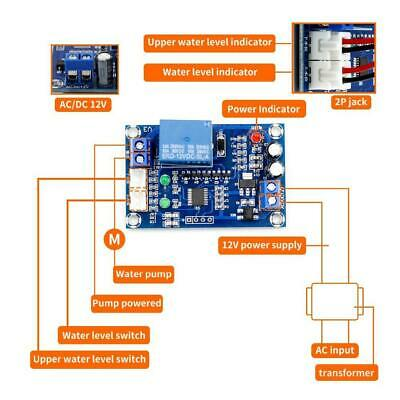 Full Automatic Water Level Controller Liquid Level Detection Sensor Module