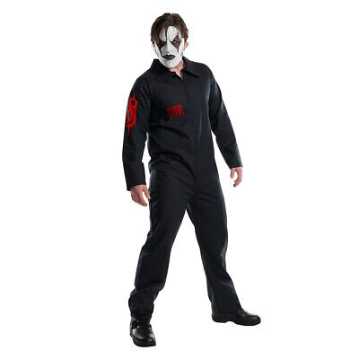 Adult Slipknot Band Black Team Uniform Cosplay Masquerade Costume Halloween Suit](Slipknot Suits)