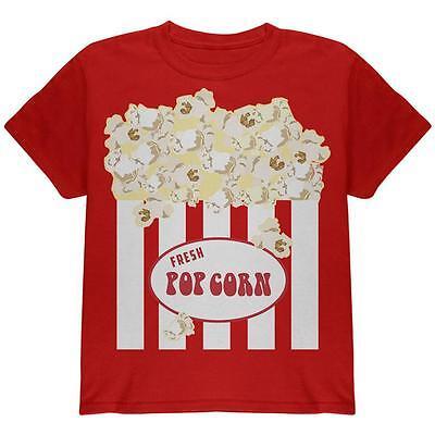 Halloween Popcorn Costume Youth T Shirt (Popcorn Halloween Costume)