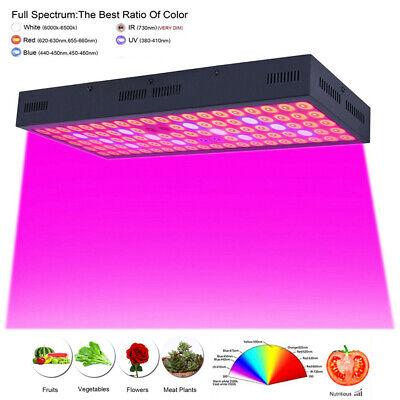 New 5000W LED Grow Light Strip Hydroponic Full Spectrum Veg Flower Plant Lamp Panel Unbranded Does Not Apply for 27.07.