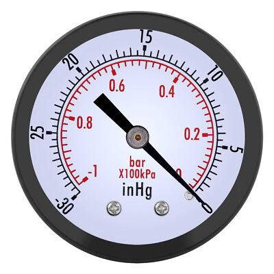 Ts-z50a Mini Dial Air Vacuum Pressure Gauge Meter Manometer Hydraulic Meter New