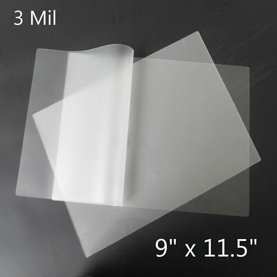 1000 Pack 3 Mil Thermal Laminating Pouches Letter Size 9x11.5 Laminator Sheets