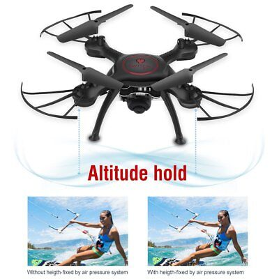 X5UW 2MP HD Camera Drone WIFI FPV Phone Remote Control RC Quadcopter Toy US B2