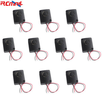 10pcs Piezo Alarm Active Buzzer Anti-theft Alarm 110db Dc 12v 10w