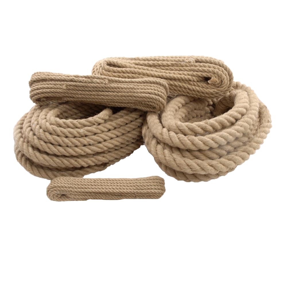 Polyhanf-Historic Tauwerk Spleitex Tauwerk,Seil 30mm ø 4-schäftig gedreht