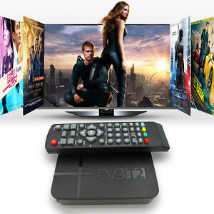Full HD 1080P Digital DVB-T2 TV Set-top Terrestrial Receiver Box USB STB HDTV ED