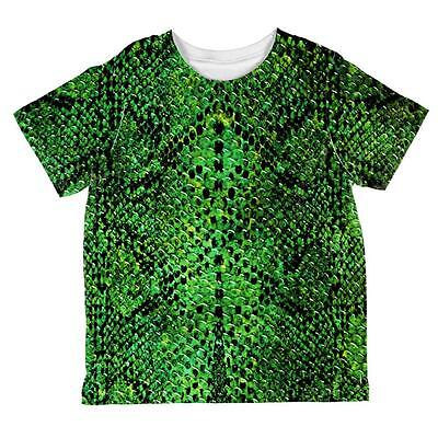 Halloween Green Snake Snakeskin Costume All Over Toddler T Shirt](All Green Halloween Costume)