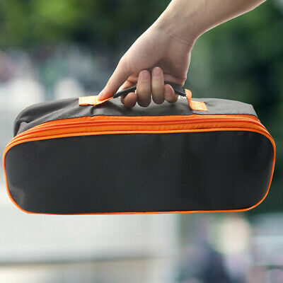 Portable Pouch Car Vacuum Cleaner Tool Bag Zipper Closure Storage Case Durable