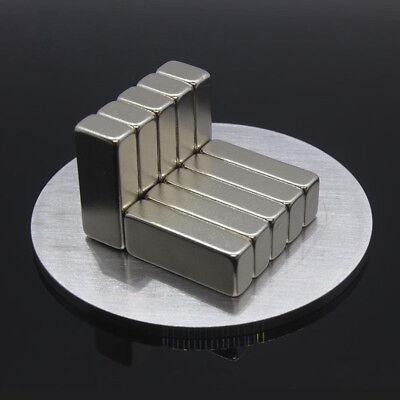 Diy Neodymium Bar Strength Rare Earth Magnets For Industrial Hobby Craft Fridge