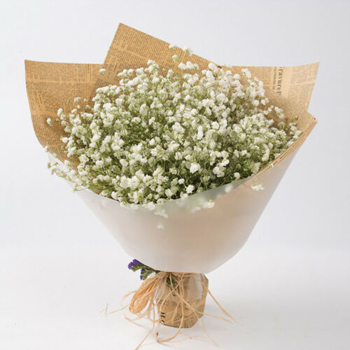 Home Decoration - Silk Flowers Bouquet Home Decor Artificial Fake Flower Babys Breath Gypsophila