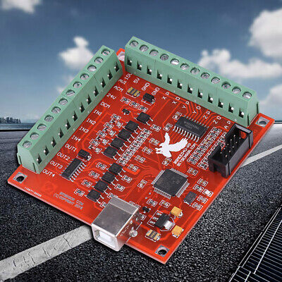 Usb Mach3 100khz Motion Controller Card Breakout Board For Cnc Engraving Durable