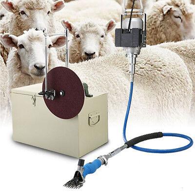 220v 360rotate Electric Shearing Machine Clipper Shears For Sheep Goats Farm