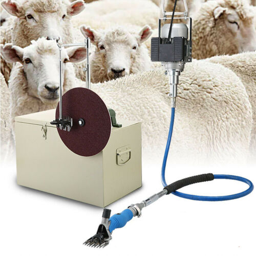 220V 360°Rotate Electric Shearing Machine Clipper Shears For Sheep Goats Farm