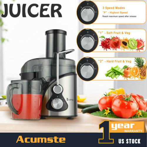 600W 1000ML Electric Juicer Juice Machines Extractor Centrif